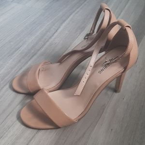 Call it spring heeled sandals